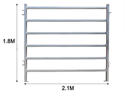 1.8X2.1m cattle panels