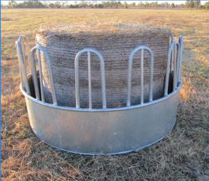 galvanized horse hay feeder/corner feeder