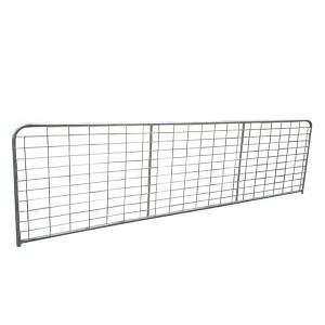 Galvanized AU style cheap farm gates for sale
