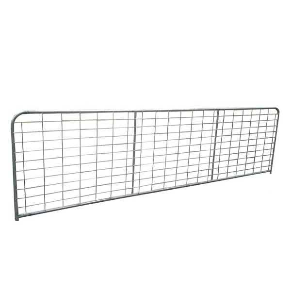 Galvanized AU style cheap farm gates for sale Featured Image