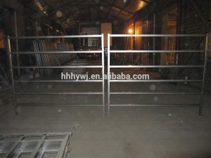 1.8×2.1m galvanized cattle panels horse panels square tube
