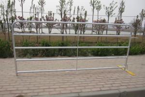 Galvanized barred gates 5,6,7 bar gates