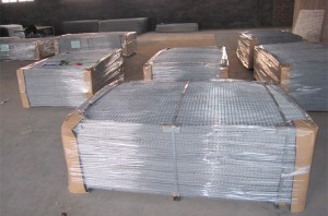 Galvanized welded wire mesh sheet 1200mm wide