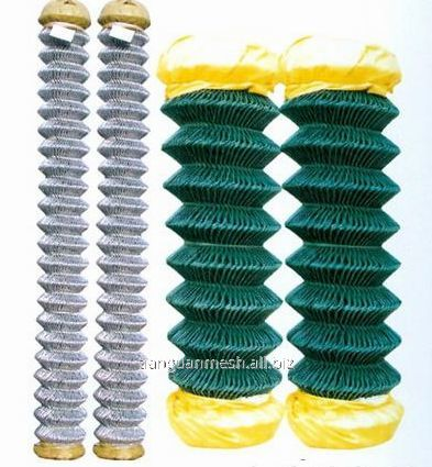 Galvanized wire pvc wire Chain Link Mesh Featured Image