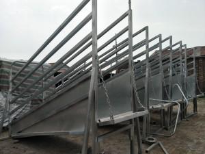 Cattle Handling Equipment adjustable loading ramp