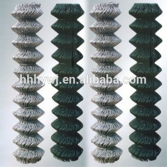 ISO Standard Weave Style Used Chain Link Fence For Sale