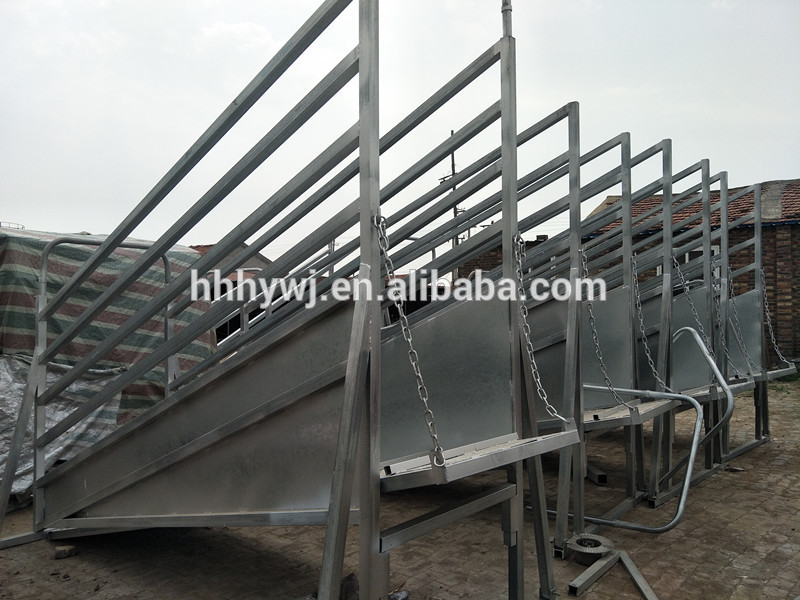factory direct portable cattle sliding gate