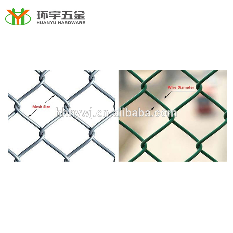 factory direct low price chain link fence for sale