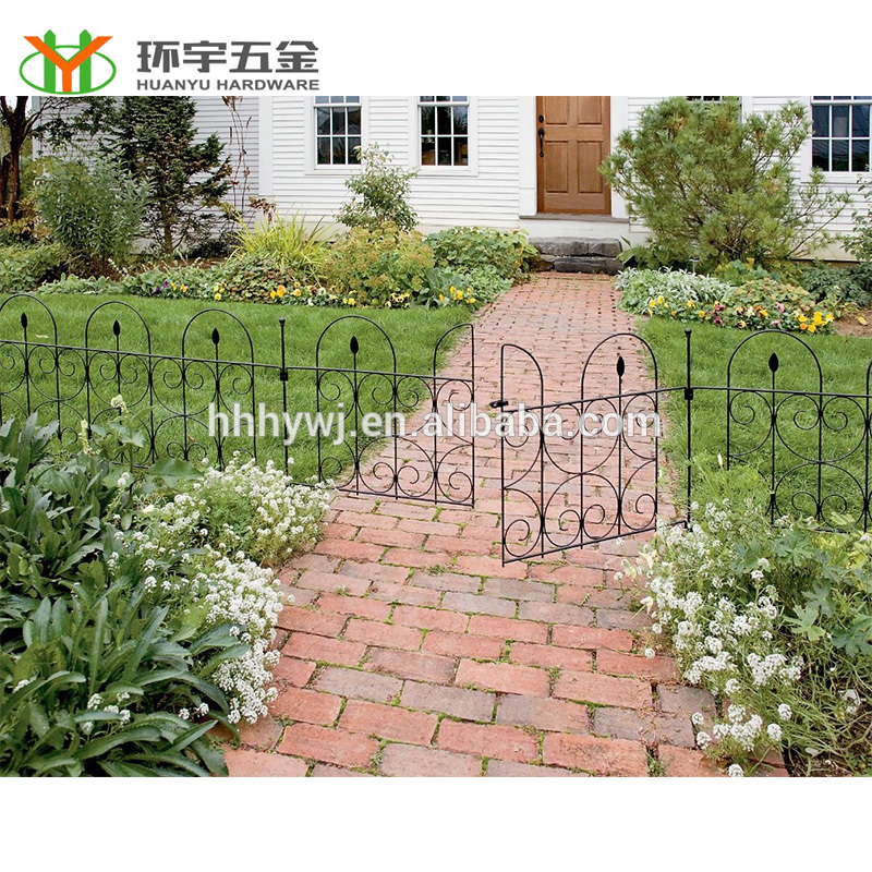 Chinese supplie high quality removable garden fence