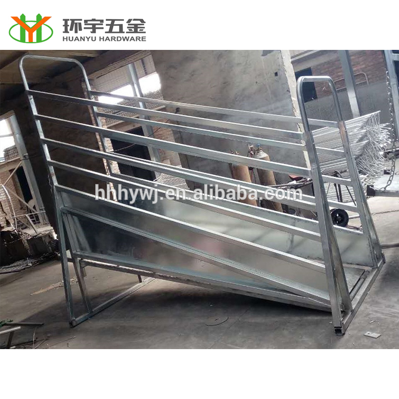 hot dipped galvanized mobile loading yard ramp for sale