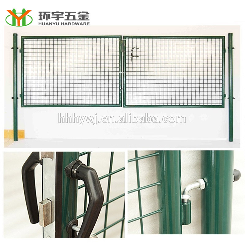 Good Quality Powder Coated security house gate