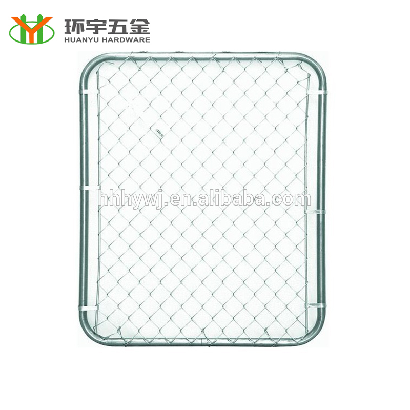 Cheap 6×6 chain link fence panels from China manufacture