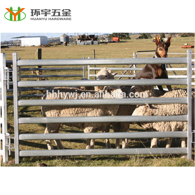Oval rails portable goat panels sheep panels Featured Image
