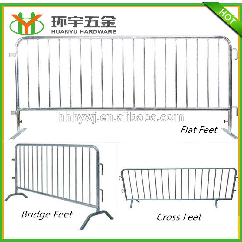 Good quality galvanized barrier fence for events factory direct