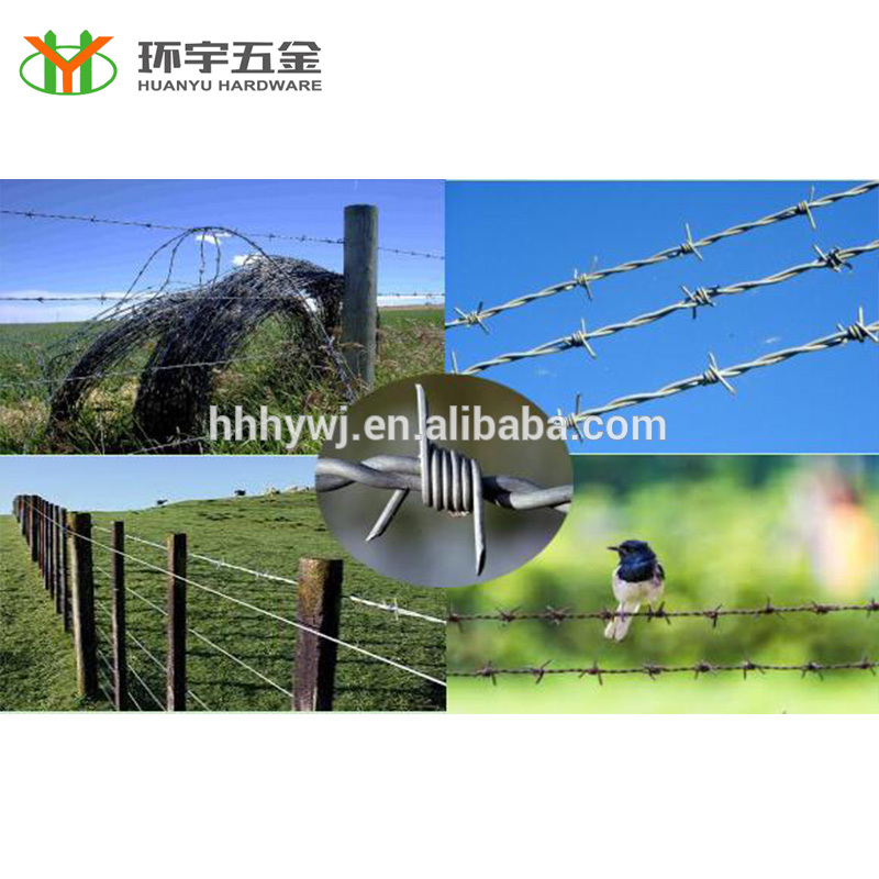 High Quality chain link fence top barbed wire for sale
