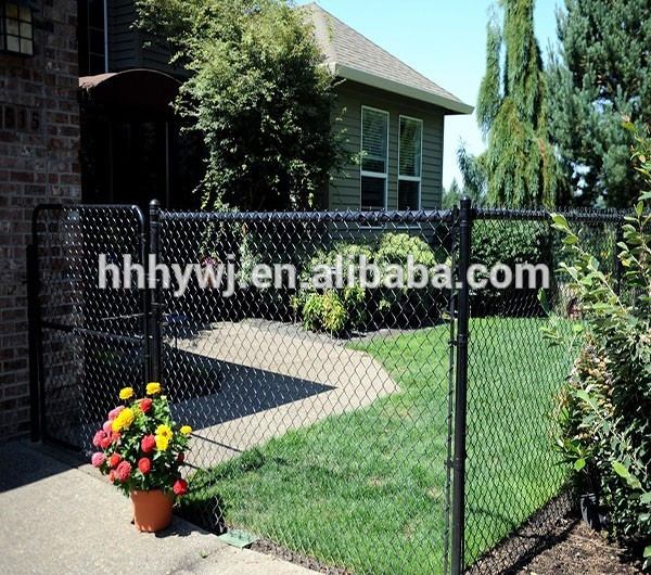 chain link mesh gate garden gate