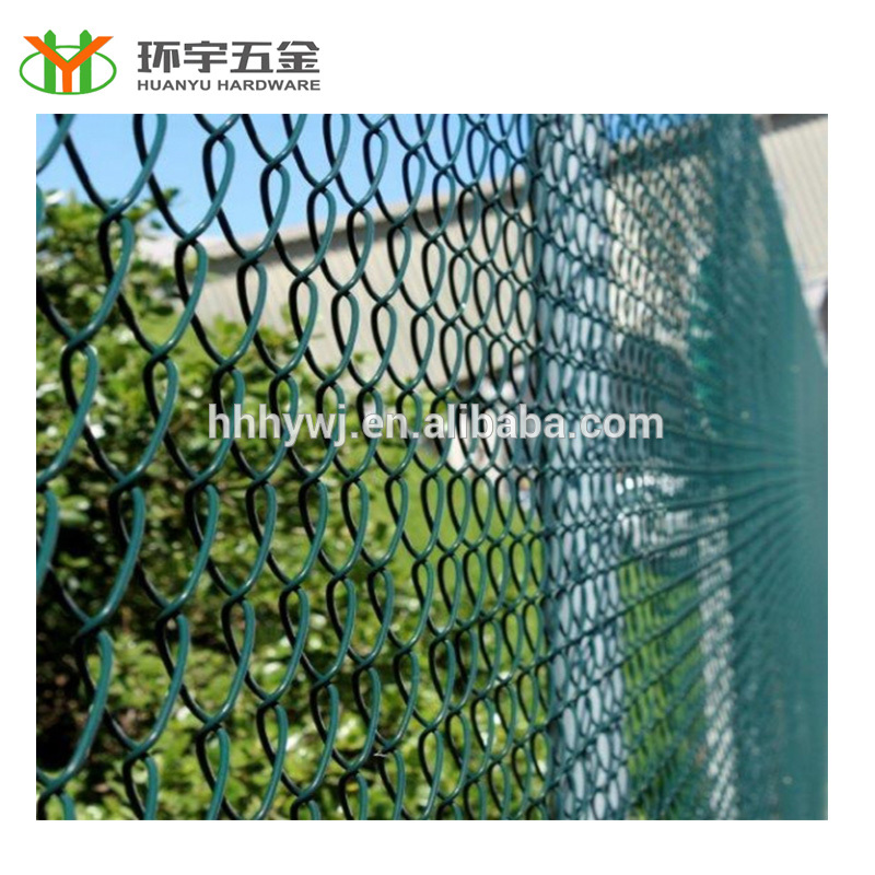 PVC Coated Chain Link Fence From 21 years Factory