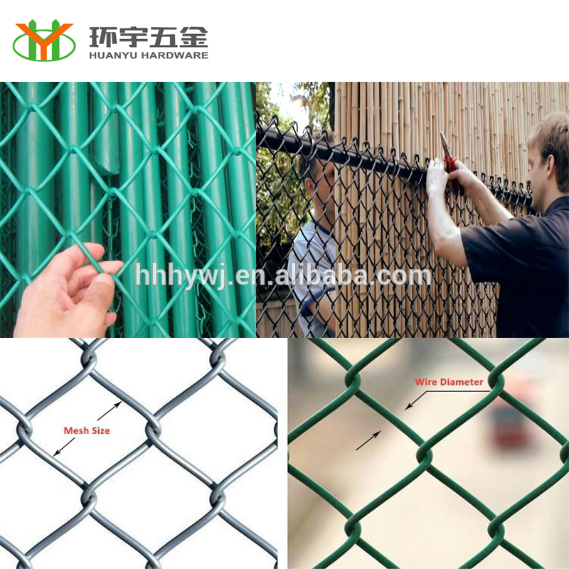 Cheap Price Good Quality Fence Weave Chain Link Fence
