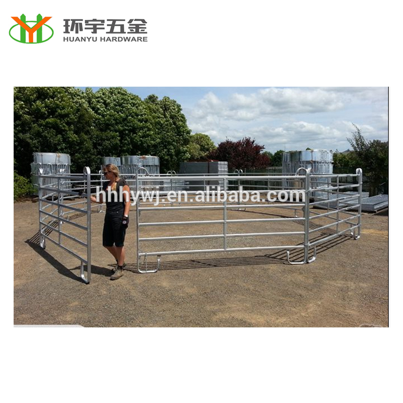 Wholesale galvanized pipe horse fence panels with good quality