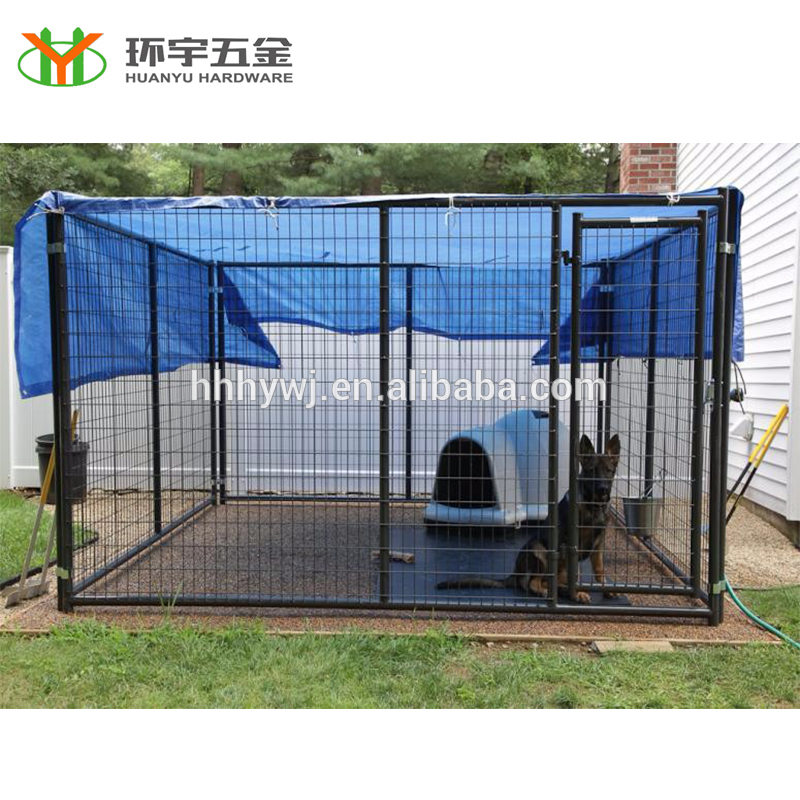 Hot Dipped Galvanized Chain Link Dog Kennels For Outside