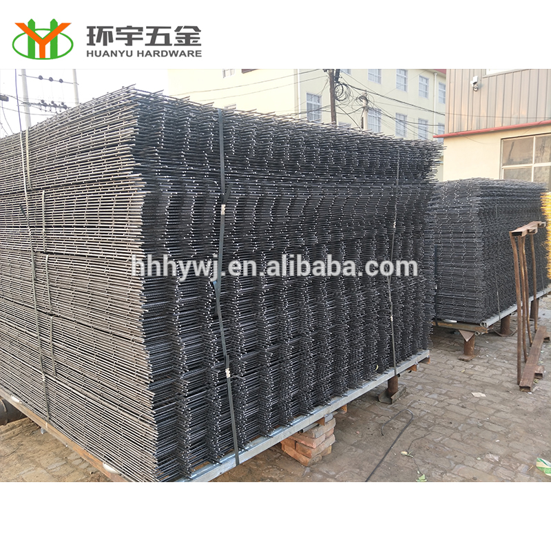 factory direct high quality black welded wire fence mesh panel