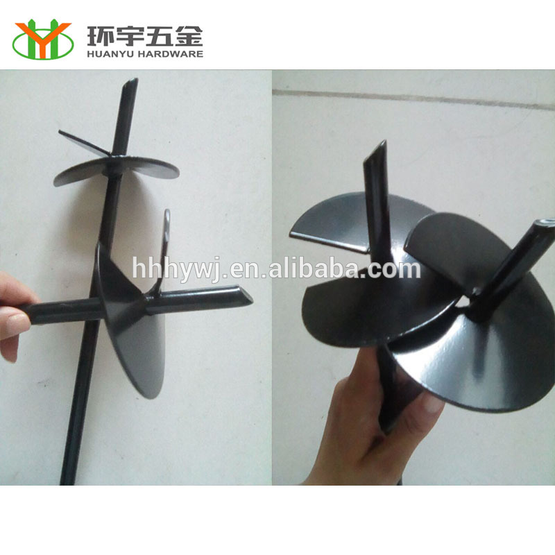 Powder coated/Galvanzied Ground Anchor Earth Screw Anchor
