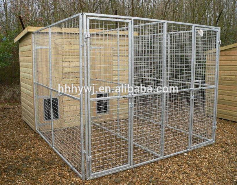 Factory Direct Good Quality Double Dog Kennel Outdoor Kennels