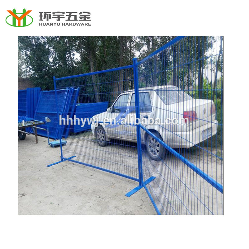 high quality canada temporary fence movable canada standard fence