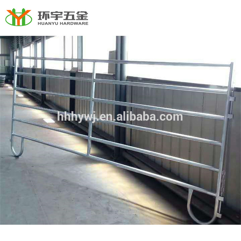 Powder Coated/Galvanized Used Corral Panels With Loop Feet