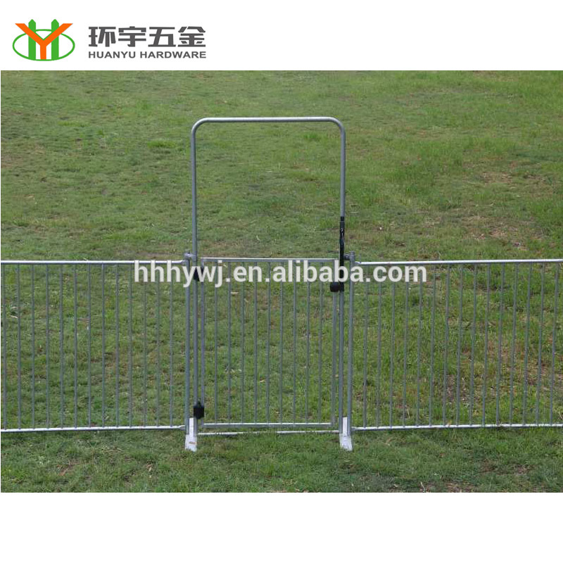 Galvanized temporary gate,Powder coated temporary gate,Chain link temporary gate