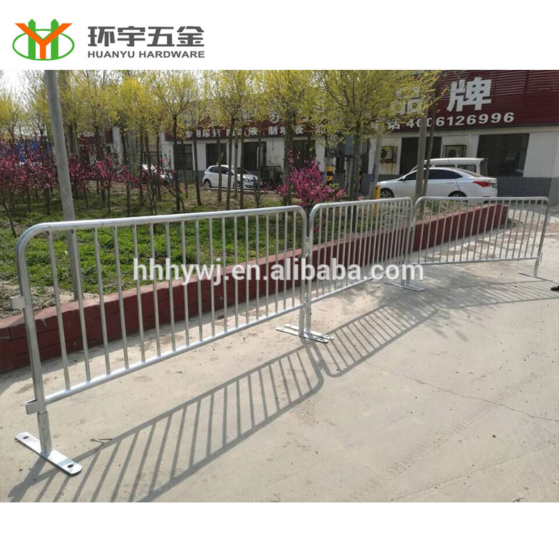 1.1m*2.1m hot-dipped galvanized queue fence for sale
