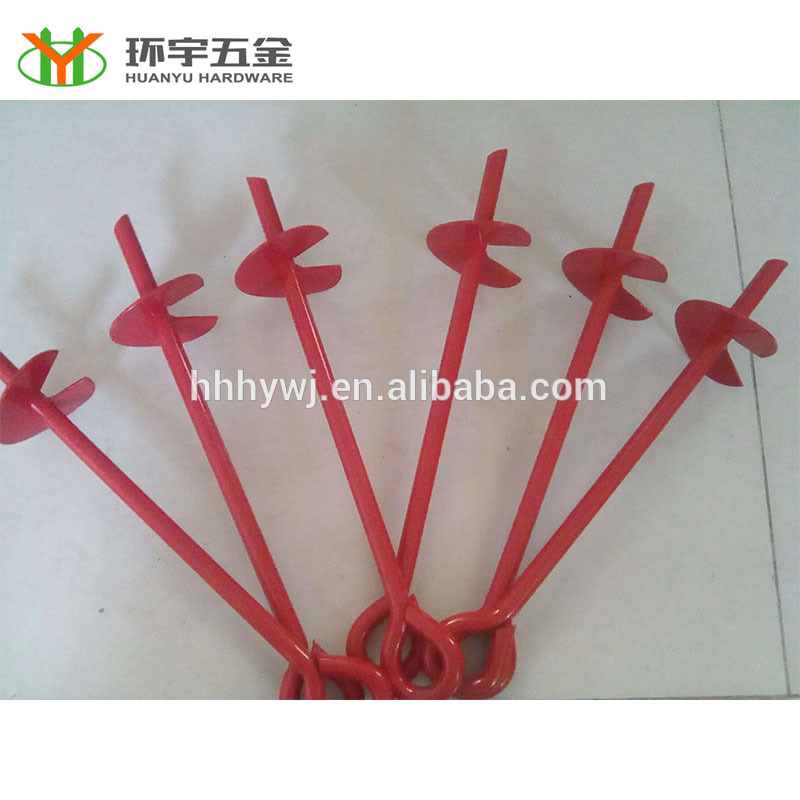 Earth Screw Anchor for Farm or Garden Chinese ISO factory supply