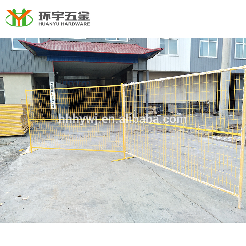 Good Quality Powder coated Temporary fence for Canada Market