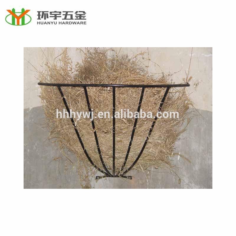 galvanized cattle hay feeder