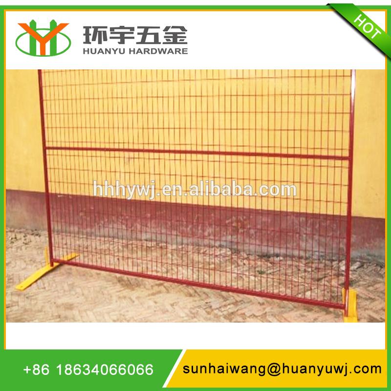 portable powder coated fence panels
