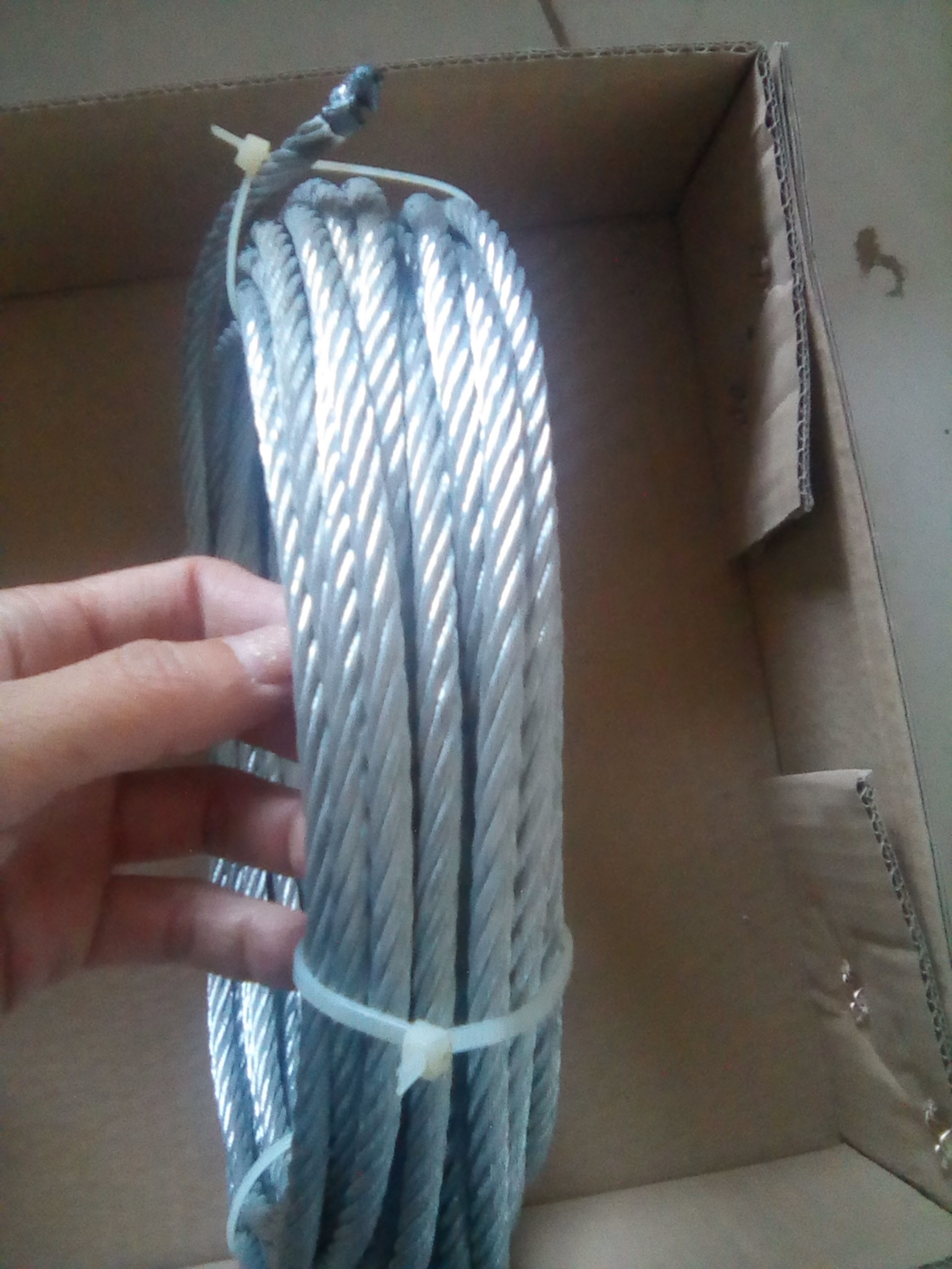 Factory Direct Steel Wire Rope Galvanized Wire Rope