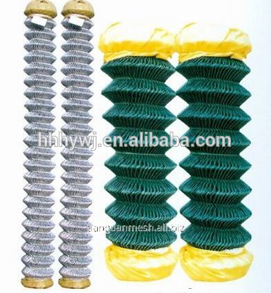 factory direct chain link wire mesh iron wire fence for sale