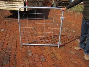Hot Dipped Galvanized Farm Gates Mesh Gates Barred Gates