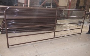 brown color gates