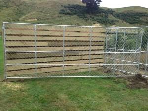 galvanized chain link mesh gates for deer