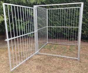 Gap bar style 5ftx5ftx6ft dog kennel